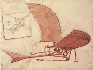 чертежи Леонардо да Винчи