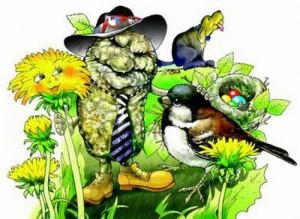 Какашка и весна