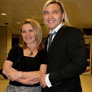 Петр Елфимов со своей любимой женщиной Татьяной Космачевой