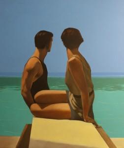 divers by George Hoyningen-Huene120x100cm