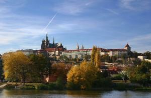 Вид на Пражский град Фото Stefan Bauer