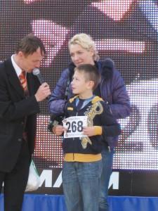 Дима Анисенко - обладатель ЖКИ-телевизора