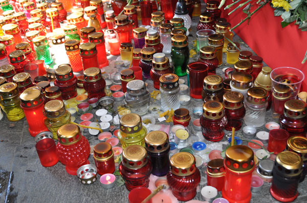 Свечи на Октябрьской