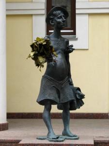 Заядлый парильщик, весёлый Вася у бани в Минске