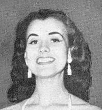 """Первая """"Мисс мира"""" Кикки Хаконссон 1951 год."""