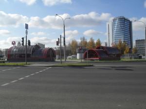 Выход на улицу Харьковскую