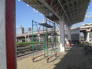 На новой станции