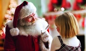 В Киеве можно будет посидеть на коленях у Деда Мороза