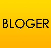 Логотип Bloger.by: Блоги Беларуси