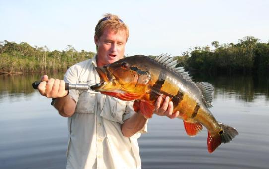 рыбалка в амозонии