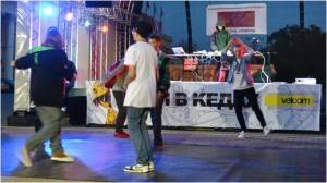 Хип-хоп на Октябрьской площади