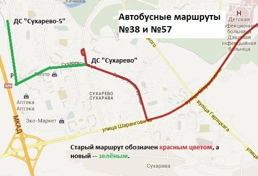 Будущие схемы маршрутов ниже.