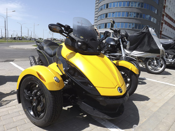 Bombardier Recreational Products (BRP) Can-Am Spyder