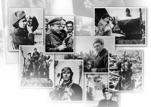 http://900igr.net/fotografii/istorija/Deti-v-vojnu/003-Vojna-eto-front.html