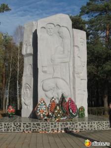 На месте лагеря Озаричи сейчас находится мемориальный комплекс.