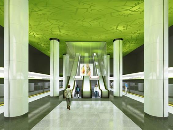 метро эскиз-