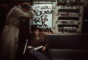Метро Нью-Йорка в 1980-х.