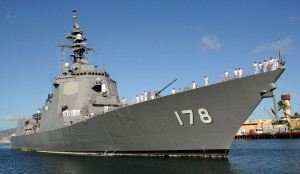 JS_Ashigara,_DDG-178_at_Naval_Station_Pearl_Harbor
