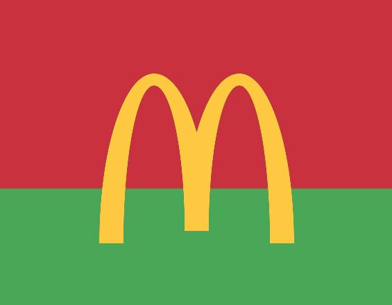 Почему в МакДональдсах стала играть белорусская музыка?