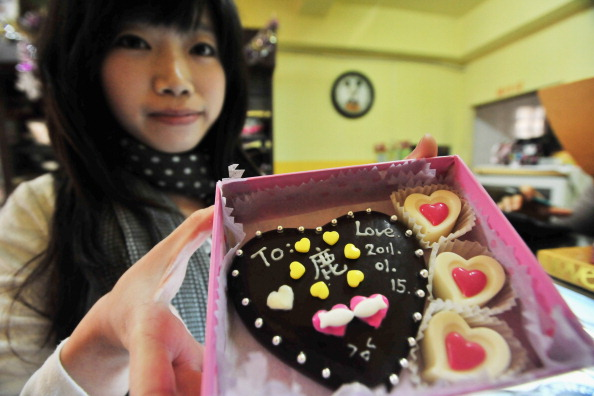 China Prepares For Valentine's Day