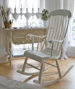 Кресло-качалка и стиль интерьера