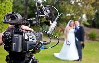 Съемка свадебного фильма