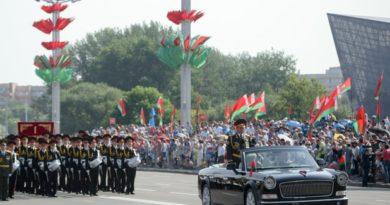 Подготовка к военному параду идёт полным ходом