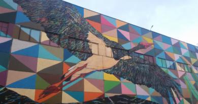 Уличное искусство – мощный инструмент, способный разбудить эмоции в человеке. Фоторепортаж с улицы Октябрьской.