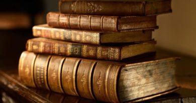 Книги в коже — украшение домашней библиотеки