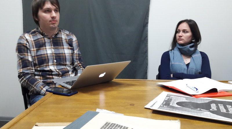 Будущие интернет-журналисты посетили редакцию газеты «Наша Нiва»