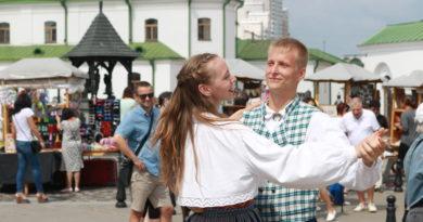 Балтийские ритмы. Фоторепортаж с праздника эстонской культуры в Верхнем городе