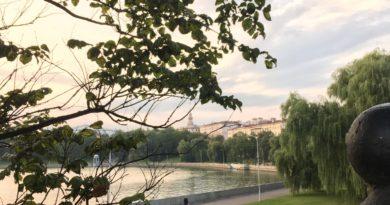 До +25: фоторепортаж из тёплого Минска