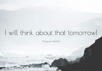 Сделаю завтра… или в 2019-ом?