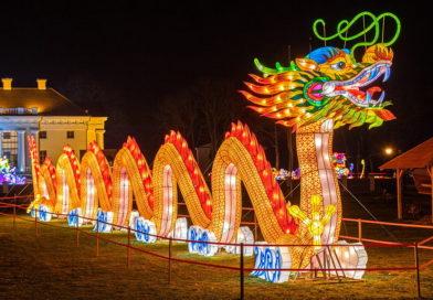 Китайский дракон покорил минский сад