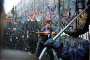 падение берлинской стены 1989