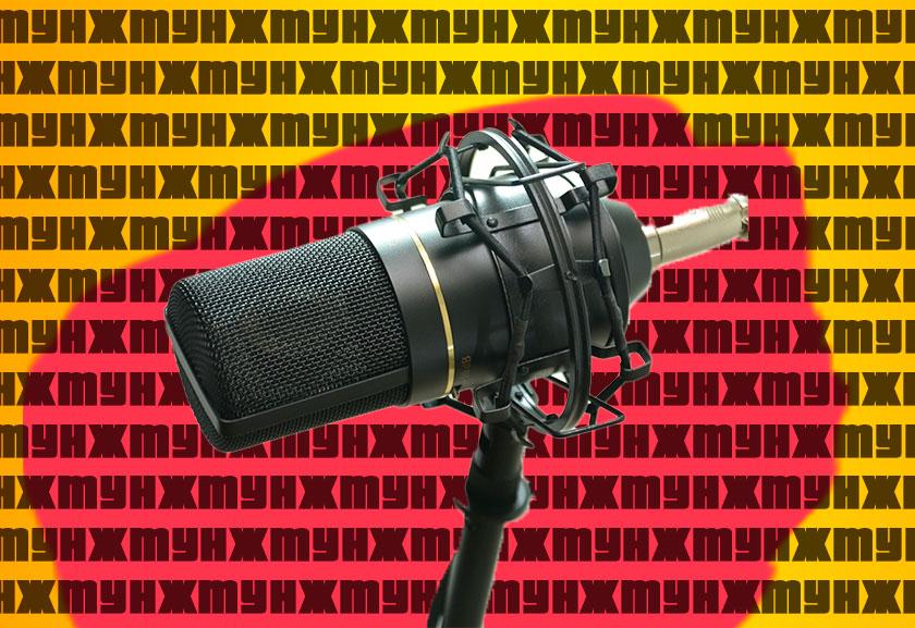 микрофон студия