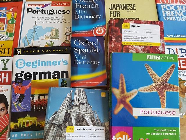 Книги иностранных языков