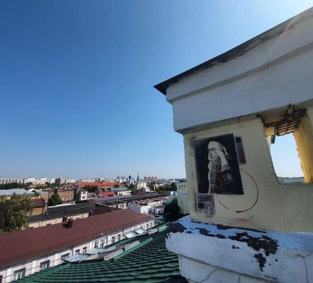 белорусский стрит-арт в Бресте